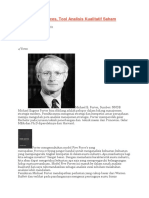 Porter's Five Forces, Tool Analisis Kualitatif Saham Yang Ampuh