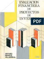Evaluacion Financiera de Proyectos Inversion