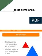 Criterios de Semejanza