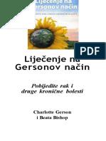 Lijecenje Na Gersonov Nacin - Pobijedite Rak