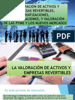 La Valoración de Activos y Empresas Revertibles,