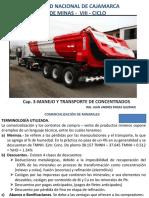 CAP.3 Manejo y Transporte de Concentrados