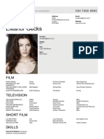 Eleanor Gecks CV