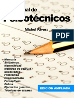 Libro Tu Manual de Psicotecnicos Michel Rivera