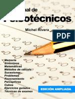 Libro Tu Manual de Psicotecnicos Michel Rivera