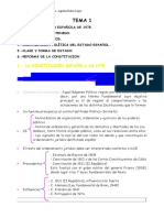 01 - La Constitucion Española Esquema ARL