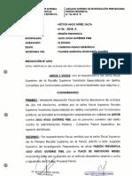 PJ evaluará pedido de prisión preventiva de Julio Gutiérrez este viernes