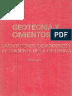 Geotecnia y Cimientos III Jimenez Salas