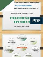 EXPEDIENTES TECNICOS