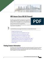 vrf aware firewall