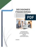 Decisiones Financieeras