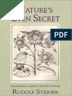 Nature s Open Secret Introduct