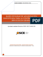 Bases Mantenimiento de Drywall Tacna