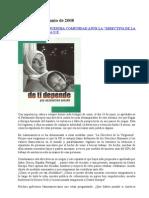 Comunicado sobre Directiva UE Inmigración, CCP Lebrija