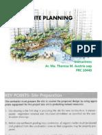 SITE PLANNING Standards 2018 Handout