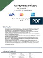 Payments Industry - SLIDE DECK 05.12.2017
