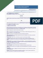 SBP-IBD Model Contracts for IBIs