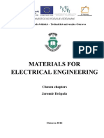 Materials for Electrotechnics and Microelectronics
