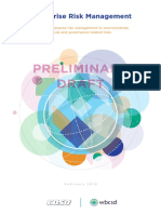 COSO WBCSD Release New Draft Guidance Online Viewing