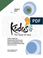 Buku Panduan Rapat Koordinasi TIK dan Sosialisasi P2KTD PID