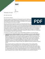 Third Way Public Charge Comment Letter