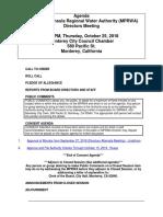 MPRWA Agenda Packet 10-25-18