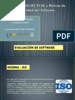ISOIEC 9126 y Métrica de Calidad Del Software.