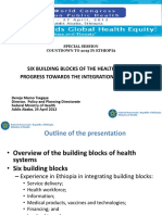 Six Building Blocks of Health System