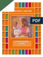 Libro Docente Lengua Materna