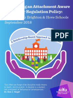 Developing an Attachment Aware Behaviour Regulation Policy - Guidance for Schools