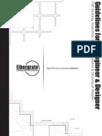 Guía para el Ingeniero y Diseñador FRP grating, Guardrail, handrail, Ladders, structural shapes.pdf