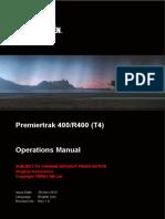 Premiertrak 400_R400 (T4) Operations Manual Revision 1.0 (en)