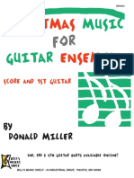 Christmas Music for Guitar Ensemble