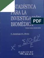 Estadística para la investigación biomédica - Armitage, P..pdf