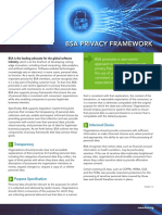 Business Software Alliance Privacy Framework