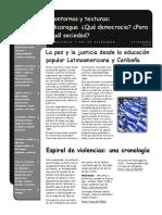 Dossier para pensar Nicaragua