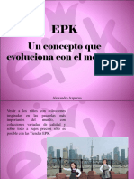 Alexandra Azpúrua - EPK, Un Concepto Que Evoluciona Con El Mercado
