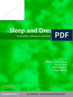 Sleep and Dreaming - Scientific Advances and Reconsiderations