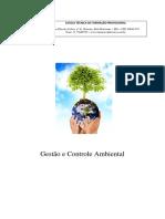 Apostila Gestão e Controle Ambiental