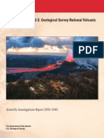 2018 update to the U.S. Geological Survey national volcanic threat assessment