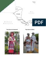 Traje Típico de Guatemala T