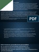 Diapositivas Psicopatologia f60 Hasta f65.9