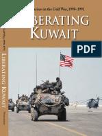 U.S. Marines in the Gulf War, 1990-1991 Liberating Kuwait