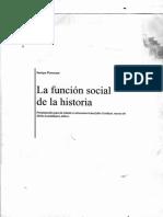 Función social de la historia