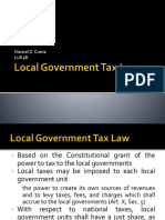 Local Government Tax Law