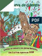 Programa de Fiestas 2018 BAJA CALIDAD