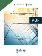 Plan Estrategico de Tecnologias de La Informacion y Las Comunicaciones Peti