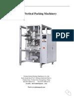 LOT 2 JT-920 Sugar Packing Machine Manual (2)