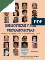 Bibliotecas y Sus Protagonistas - Maria Del Carmen Gonzalez-River