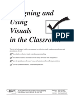 Visuals Designing and Using in Classroom